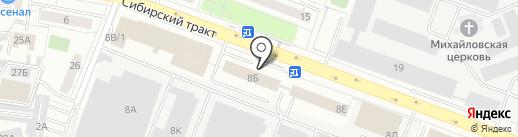 ЖБИ-СНГ на карте Екатеринбурга