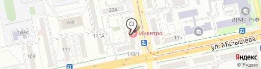 Интеллект-гаджет на карте Екатеринбурга