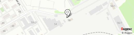 УралТеплоСнаб на карте Екатеринбурга