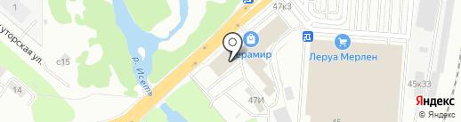 Moda DOMA на карте Екатеринбурга