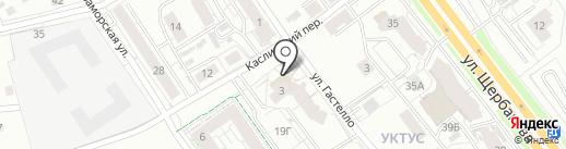Дом быта на карте Екатеринбурга