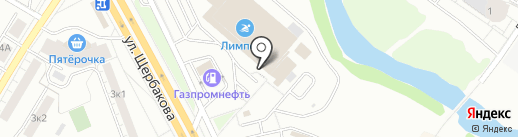 Плыви на карте Екатеринбурга