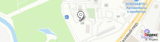 Авалон на карте Екатеринбурга