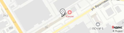 РосКом на карте Екатеринбурга