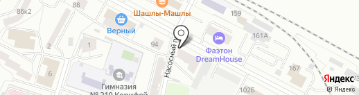 Villa на карте Екатеринбурга