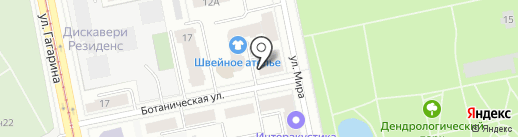 Рыжий город на карте Екатеринбурга
