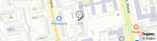 Учебно-методический центр на карте Екатеринбурга