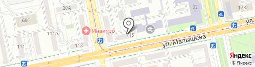 Термекс под ключ на карте Екатеринбурга
