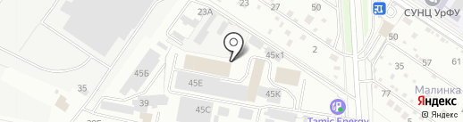 Водомир Урал на карте Екатеринбурга