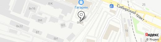 Формула Страхования на карте Екатеринбурга