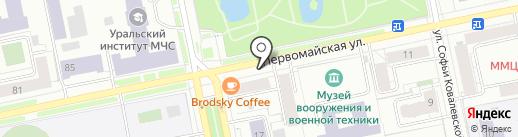 Хлебосолька на карте Екатеринбурга