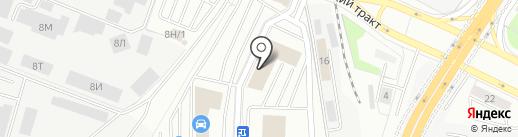 Interia на карте Екатеринбурга