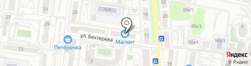 УРАЛ-ДЕЗЦЕНТР на карте Екатеринбурга