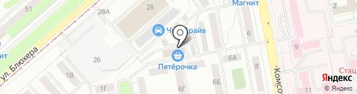 У Ольги на карте Екатеринбурга