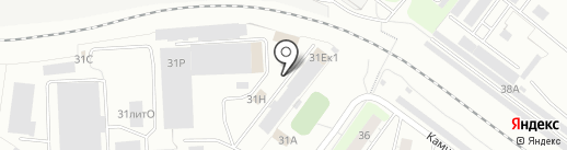 Альфа-Д Компани на карте Екатеринбурга