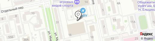 СоюзЛМ на карте Екатеринбурга