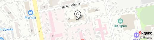 SkyDNS на карте Екатеринбурга