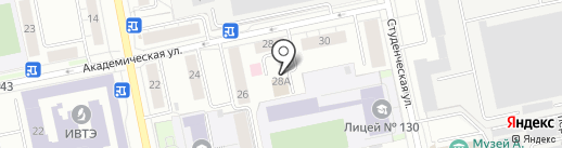 Bigly на карте Екатеринбурга