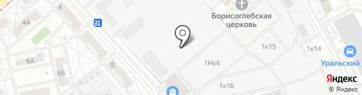МираЛоджик СИ на карте Екатеринбурга