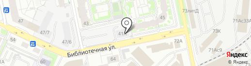 Первостроитель на карте Екатеринбурга