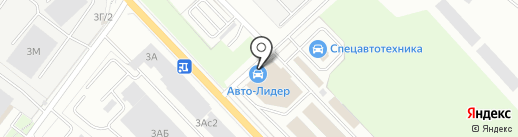 Урал-лемезит на карте Екатеринбурга