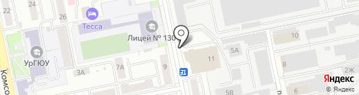 Nobilia на карте Екатеринбурга