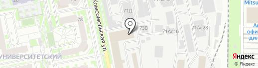 Эксперт-Авто на карте Екатеринбурга