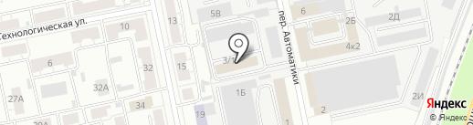 Интекс Групп на карте Екатеринбурга