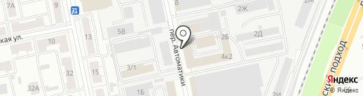 Арлони на карте Екатеринбурга