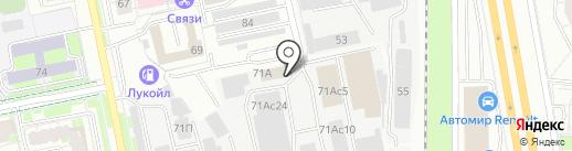 Екатеринбургобщепит, МУП на карте Екатеринбурга