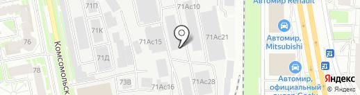 УралАгротэкс на карте Екатеринбурга