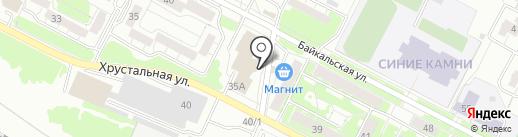 Магазин товаров для рукоделия на карте Екатеринбурга