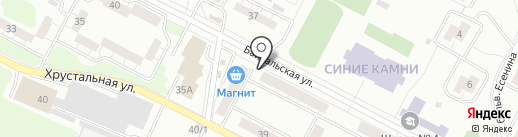 Совет микрорайона Синие Камни на карте Екатеринбурга