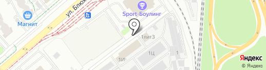 Северные Территории на карте Екатеринбурга