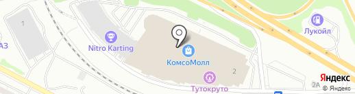 Шелковый рай на карте Екатеринбурга