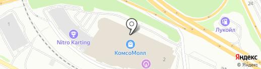 Линзотека на карте Екатеринбурга