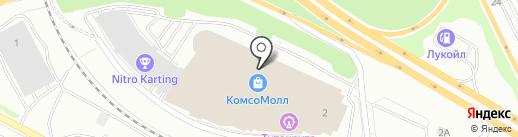 108 орешков на карте Екатеринбурга
