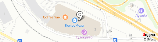 CoffeFun на карте Екатеринбурга