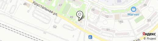 Лучи жизни на карте Екатеринбурга