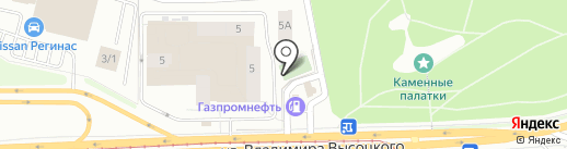 УНИВЕРСАЛКОР на карте Екатеринбурга