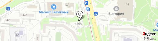 Мастерская по ремонту часов на карте Екатеринбурга
