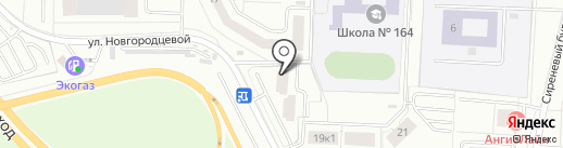 Живая вода на карте Екатеринбурга