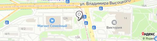 Элика на карте Екатеринбурга