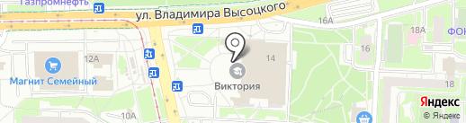 Тайм-Аут на карте Екатеринбурга