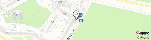 Кафе-пиццерия на карте Екатеринбурга