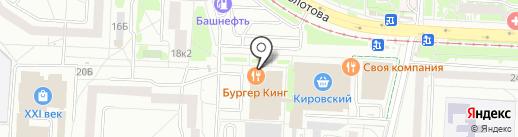 Фортуна на карте Екатеринбурга