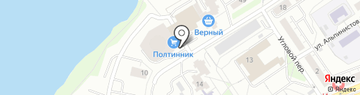 Е1 на карте Екатеринбурга