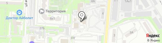 Авто-Интер на карте Екатеринбурга