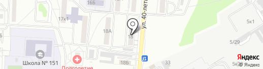 Красное & Белое на карте Екатеринбурга