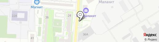 Кафе быстрого питания на карте Екатеринбурга